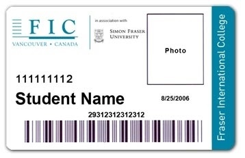 FIC student card