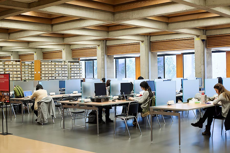 Library Sfu Study Rooms