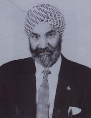 Arjan Singh Brar portrait
