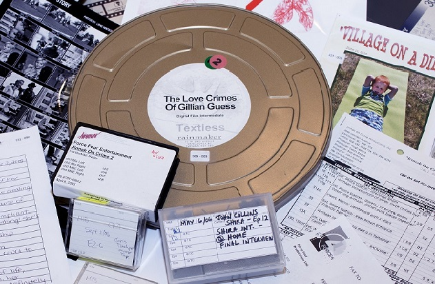 films reels, etc. from the force four collection