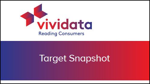 Image of the logo of Vividata Target Snapshot database.