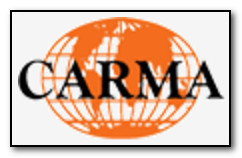 Image of the logo for CARMA: Consortium for the Advancement of Research Methods and Analysis