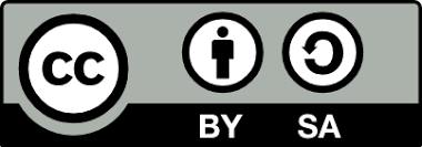 Creative Commons Attribution-ShareAlike License