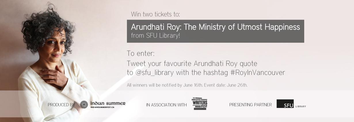 arundhati roy official website