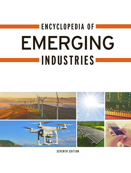 Image of the cover of the Encyclopedia of Emerging Industries