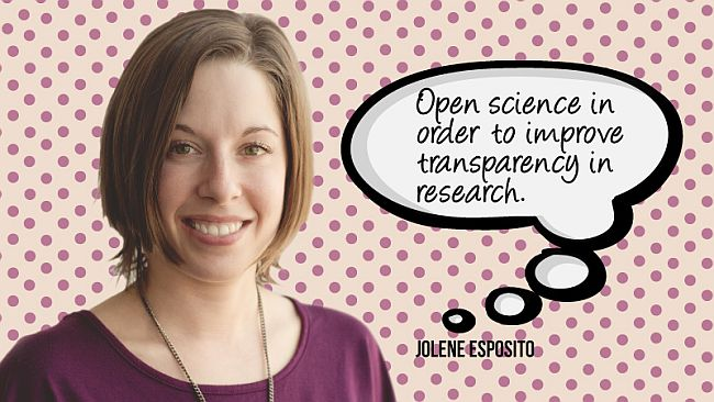 Open science in order to improve transparency in research