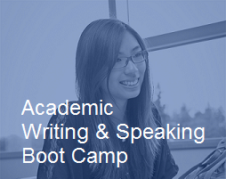 Academic Writing & Speaking Boot Camp