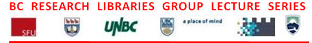 logos from the libraries that are part of the bc research libraries group lecture series