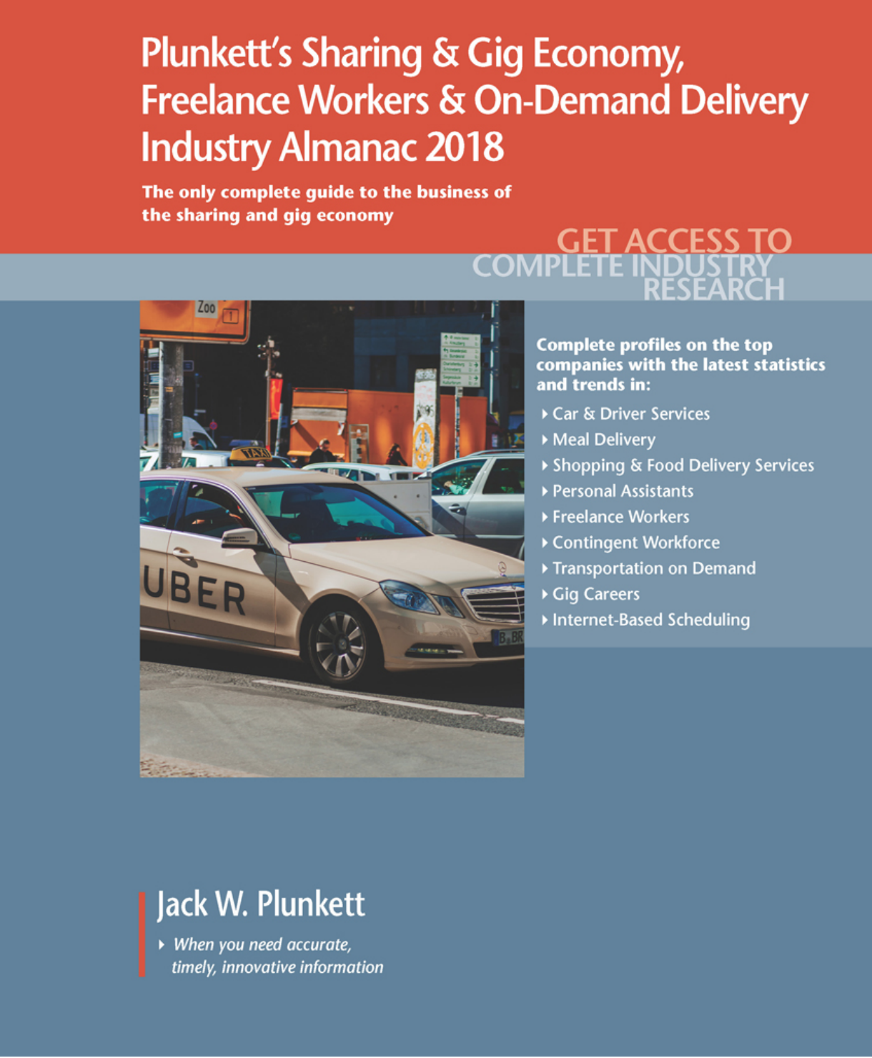 Cover of Plunkett's Sharing & Gig Economy ebook