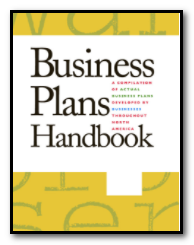 Cover of a Business Plans Handbook volume