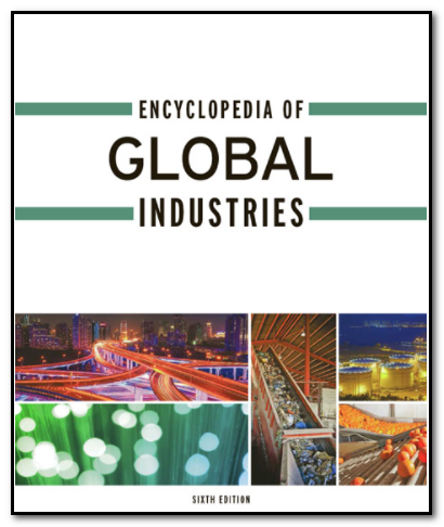 Cover of the Encyclopedia of Global Industries