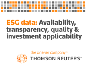 Thomson Reuters logo and the title of the webinar