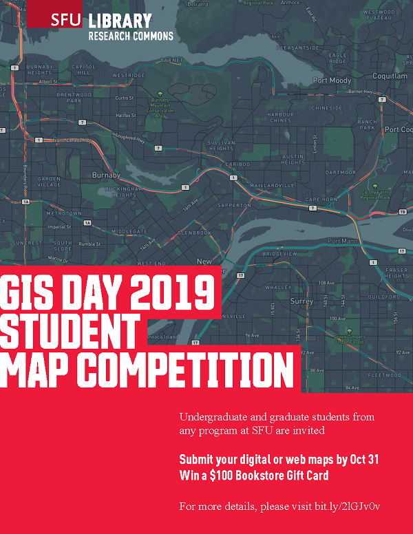 GIS Day 2019 Student Map Competition