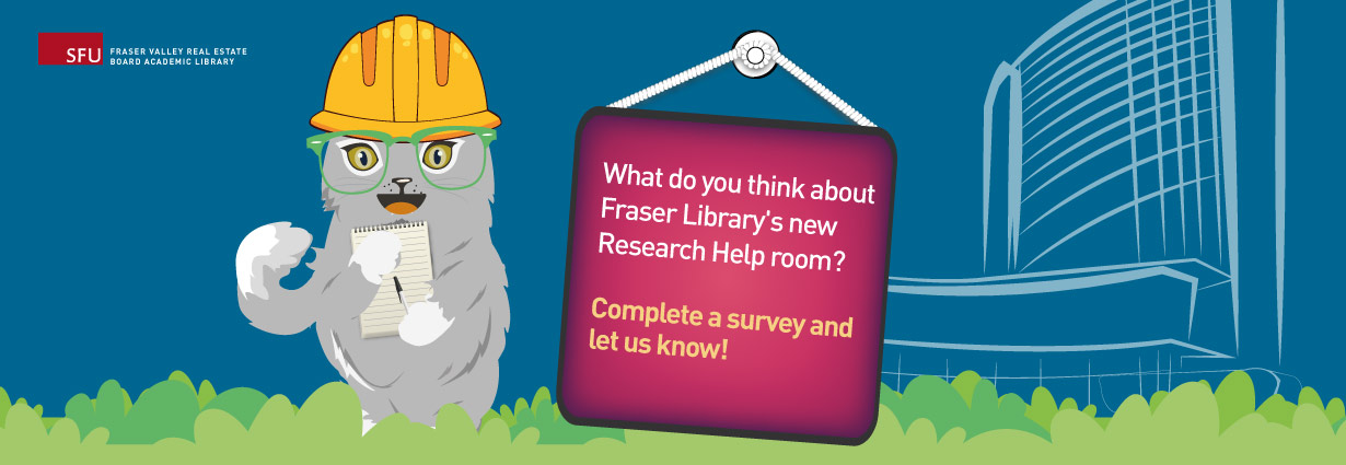 What do you think about Fraser Library's Research Help room?