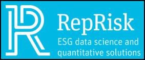 Logo for RepRisk