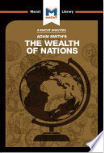 "Image of the cover of the Macat Library volume on Adam Smith's ""The Wealth of Nations"""