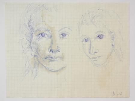 The Self-Portraits of Florence Baldisseri – daily self portraits c.1974-1982