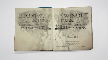 Swindle (1917) – the only extant copy of a Modernist  journal found by students in the 1930s.