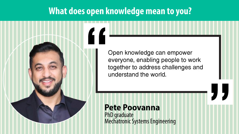 """Open knowledge can empower everyone, enabling people to work together to address challenges and understand the world."""