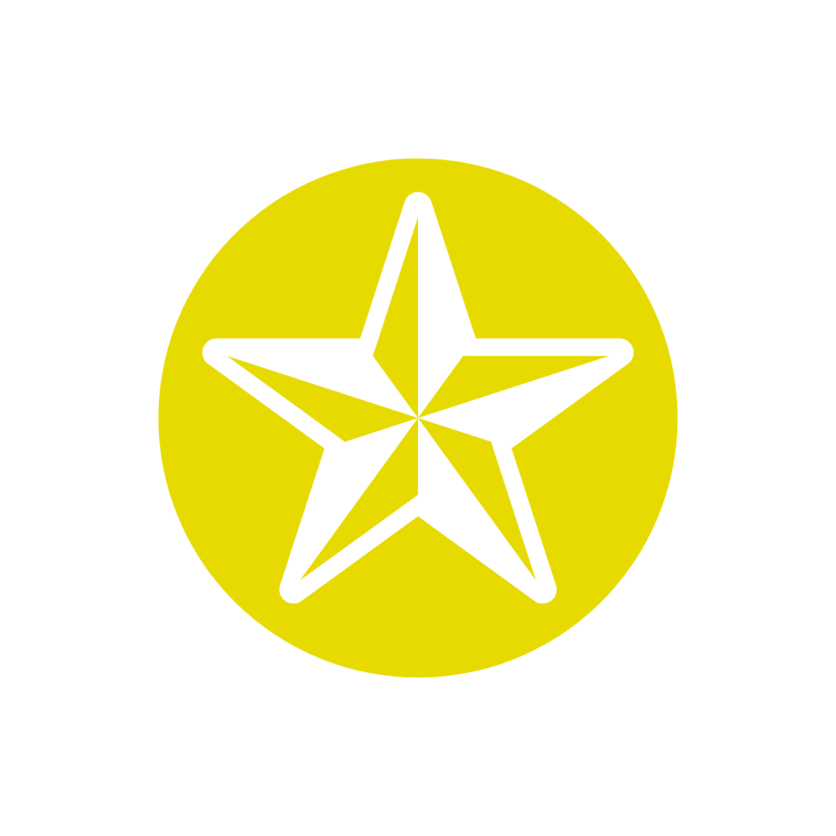 Simple image of a gold star
