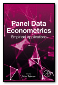Cover of book: Panel Data Econometrics: Empirical Applications
