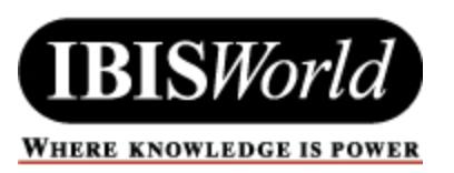 Logo for IBISWorld database via SFU. Click to access.