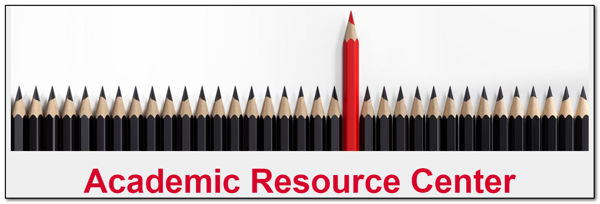 logo for the Academic Resource Centre