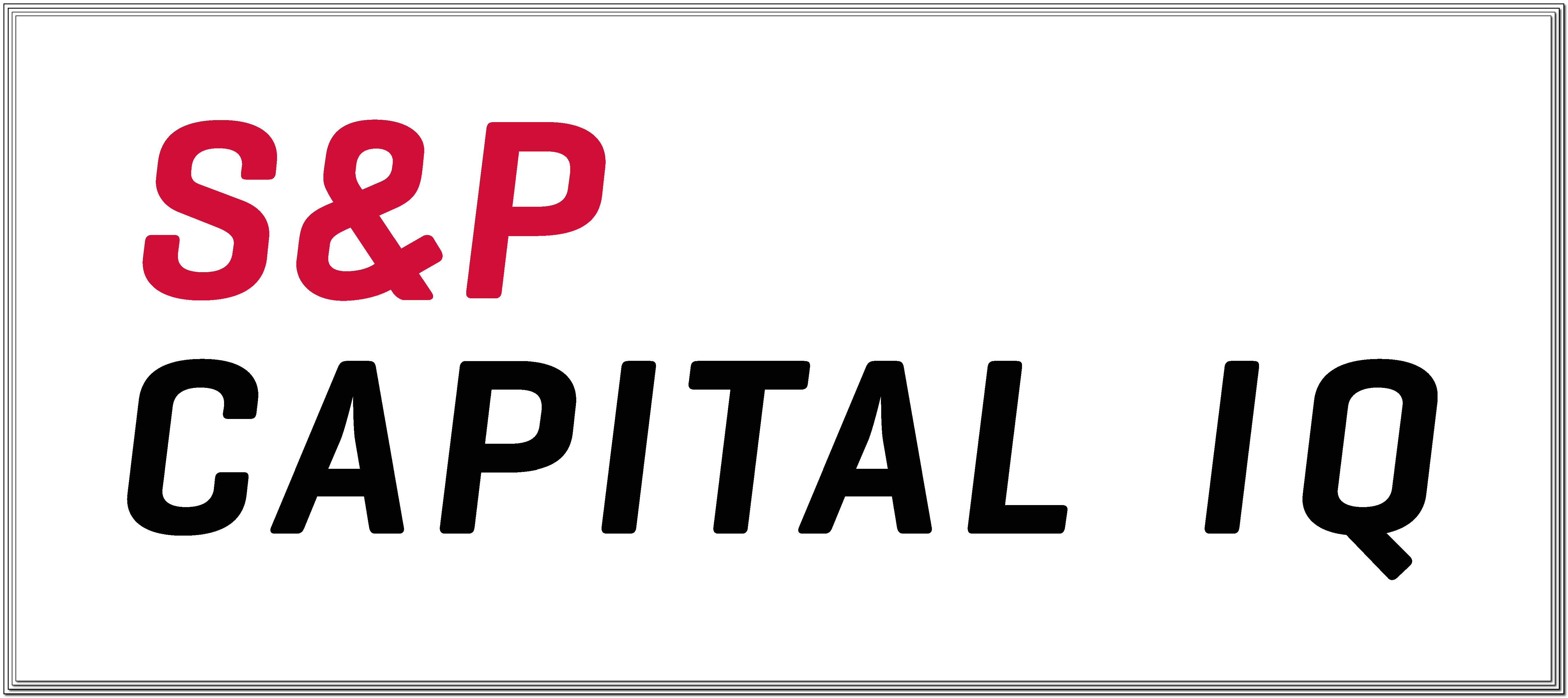 logo for S&P Capital IQ