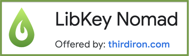 Logo for LibKey Nomad Chrome Browser extension