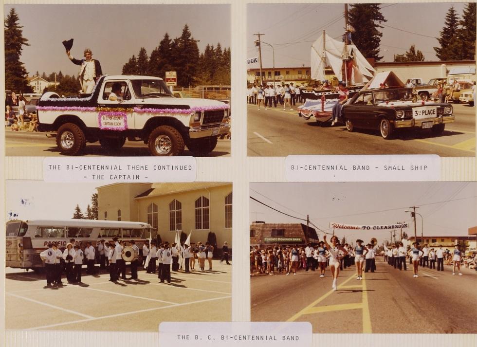 Parade celebrating Captain Cook bicentennial