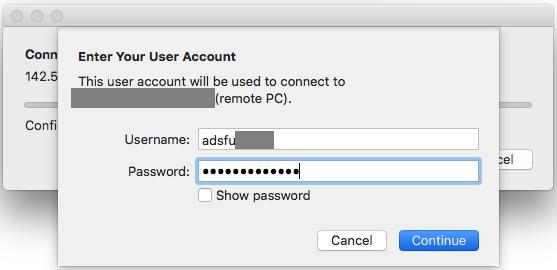 Login with your computing ID i the format adsfu\yourcomputtingid