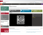 New Research Commons home page