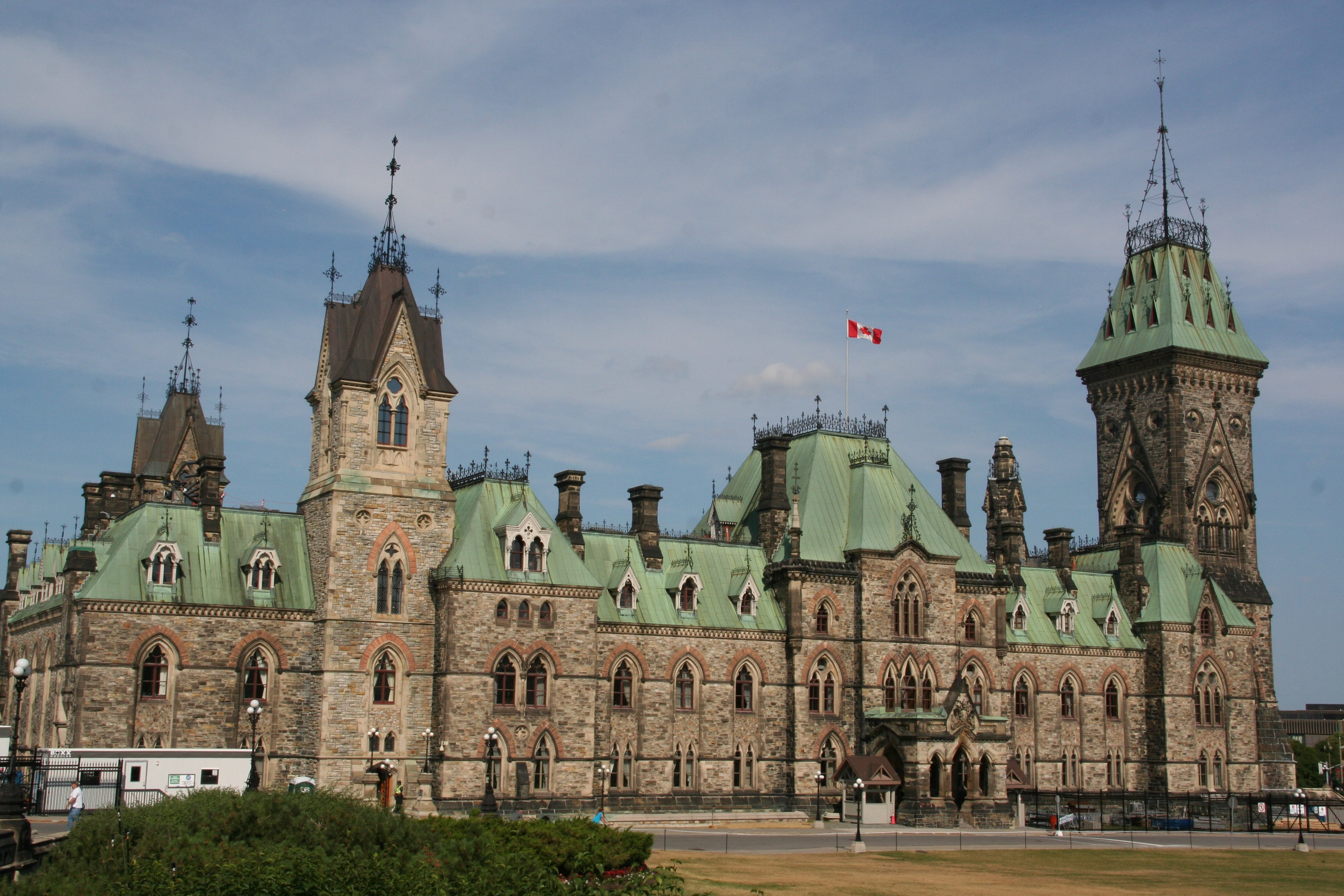 Photo of Canada's Parliament building.