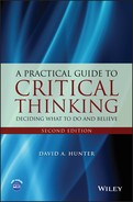 """Cover of ebook: """"A practical guide to critical thinking: deciding what to do and believe"""""""
