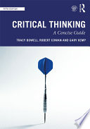 cover of book: Critical Thinking: A Concise Guide