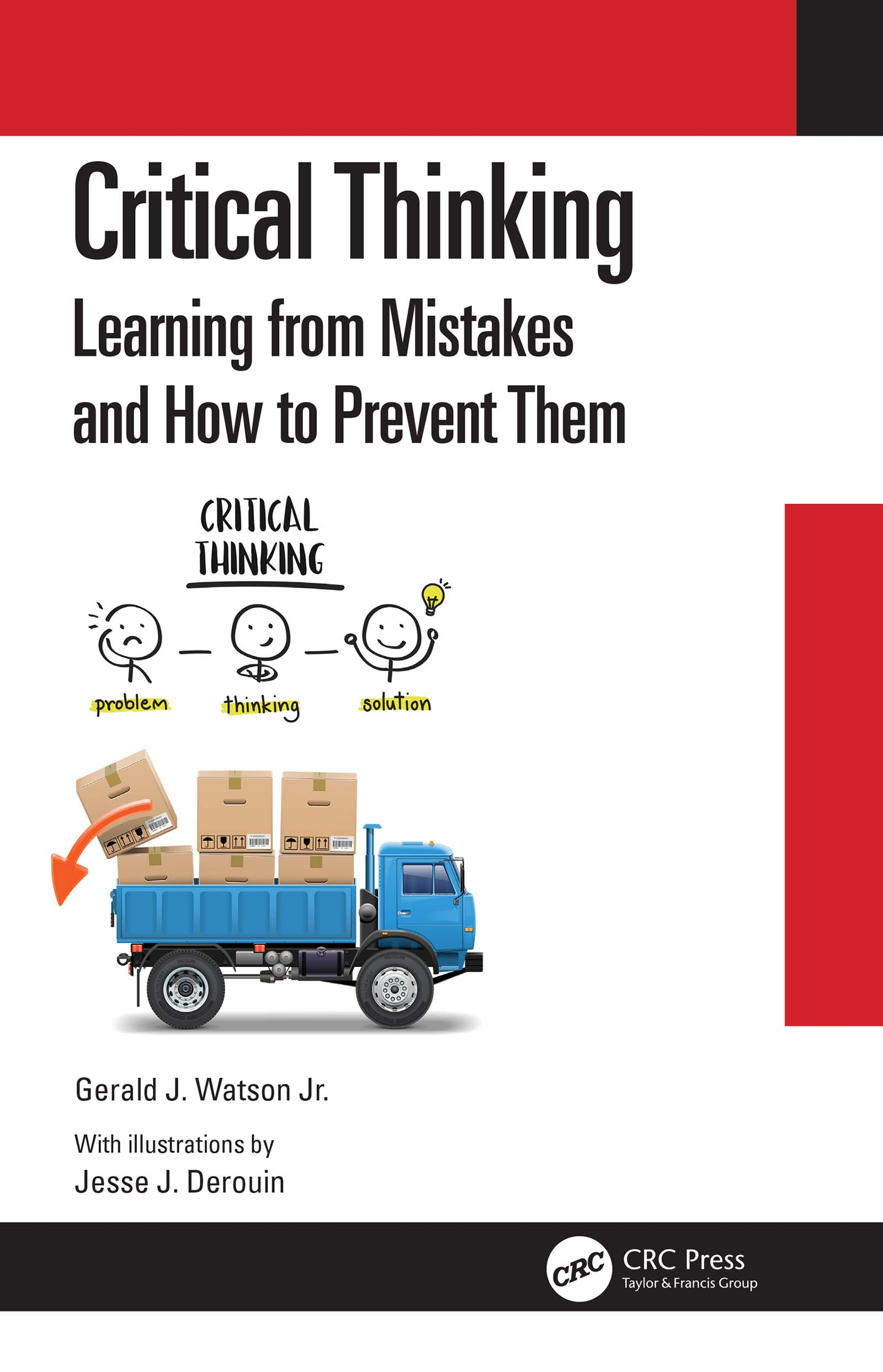 """Cover of ebook: """"Critical thinking : learning from mistakes and how to prevent them"""""""