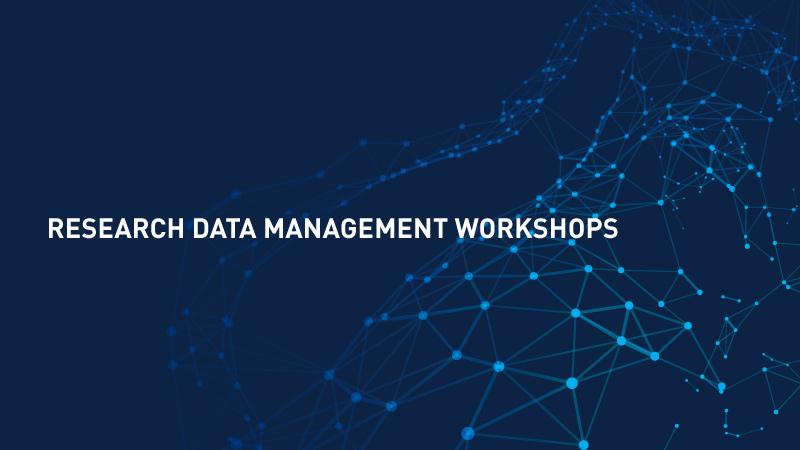 Research Data Management Workshops