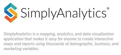 Logo of the SimplyAnalytics database.