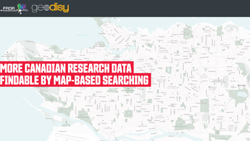 More Canadian research data findable by map-based searching